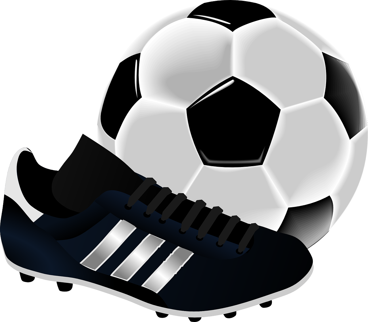 サッカー ボール スパイク