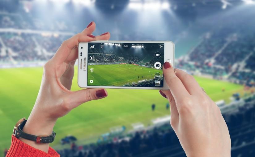 サッカー 観戦 写真撮影