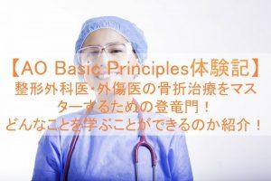 AOTrauma-Basic Principles体験記|骨折治療をマスターするための登竜門!